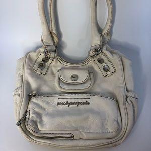 Marc by Marc Jacobs white shoulder purse